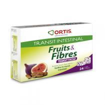 Ortis - Fruits & Fibres Transit facile 24 cubes