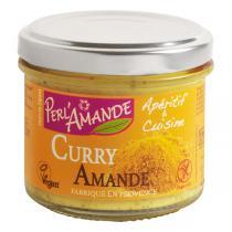 Perlamande - Mandelmus Curry 90g