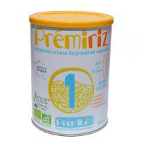 Prémibio - Prémiriz 1er âge 0-6 mois - 900g