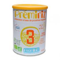 Prémibio - Prémiriz Croissance 12-36 mois - 900g