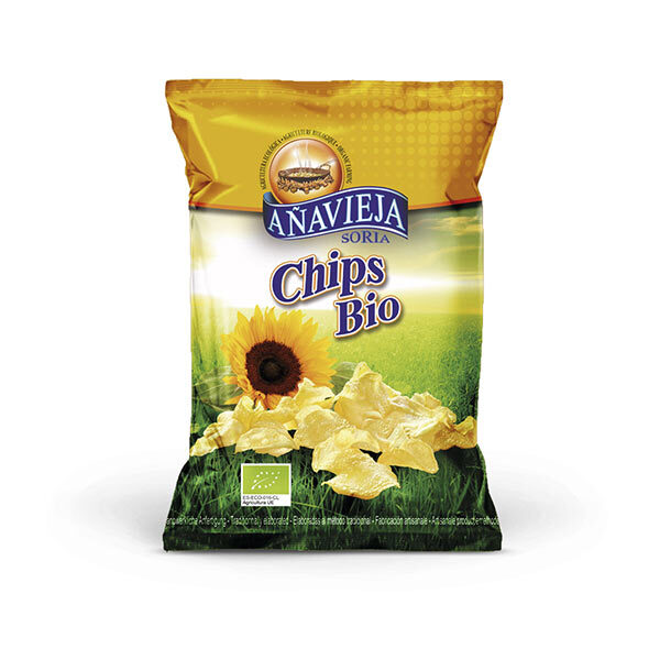 Aperitivos de Añavieja - Chips nature format familial 230g