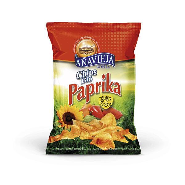 Aperitivos de Añavieja - Chips paprika 125g