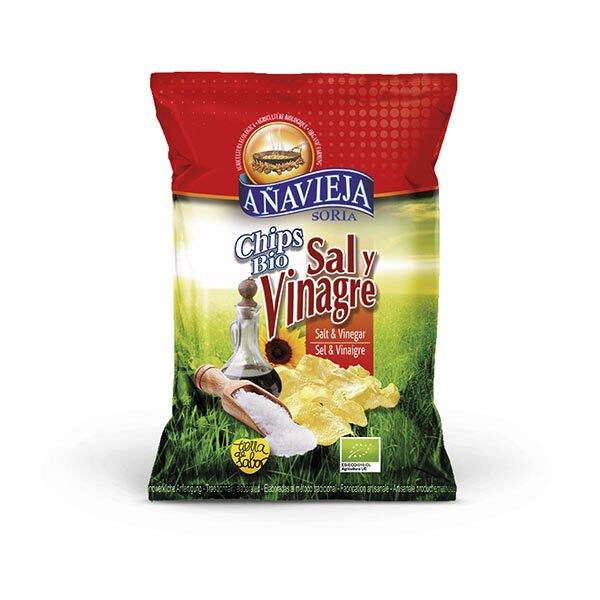 Aperitivos de Añavieja - Chips sel et vinaigre (vinegar chips) 125g
