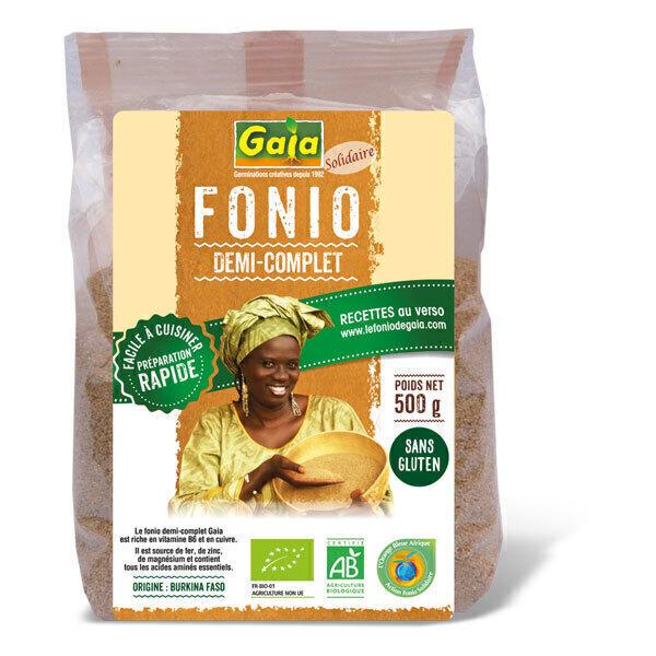 Gaïa - Fonio demi-complet 500g