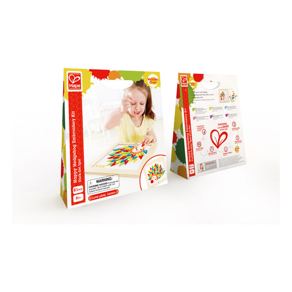 Hape - Stick-Set Igel