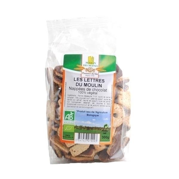 Moulin des Moines - Biscuits Les Lettres du Moulin - 300g