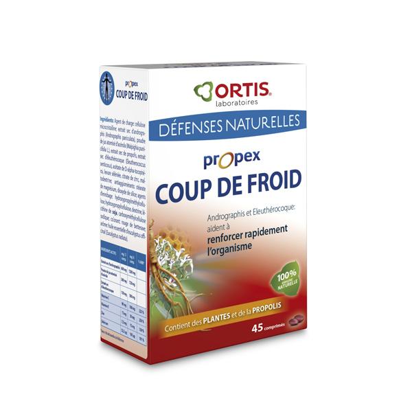 Propex coup de froid 45 comprim s ortis acheter sur - Coup de froid homeopathie ...