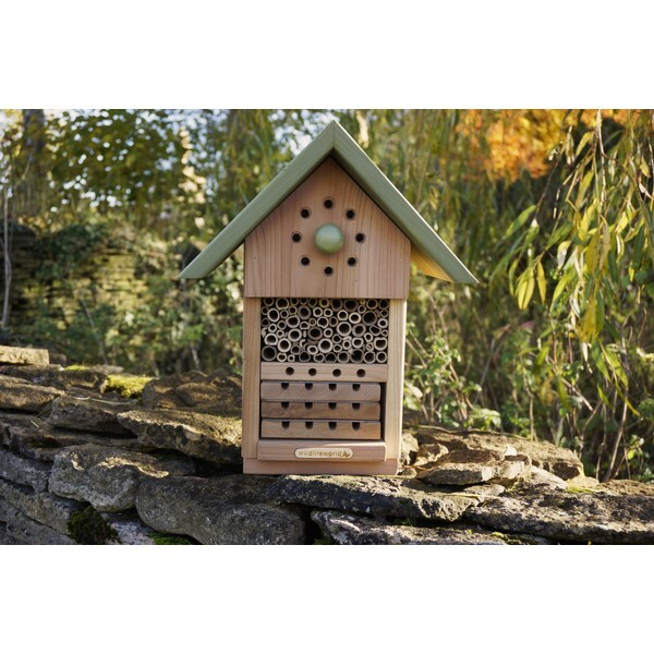 H tel pour insectes solitaires wildlife world acheter for Hotel a insecte acheter