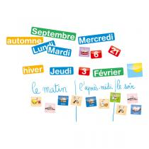 Jeujura - Coffret magnets calendrier 80 caracteres