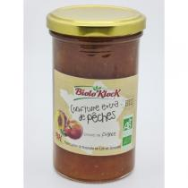 Biolo'Klock - Confiture EXTRA Pêches 300gr