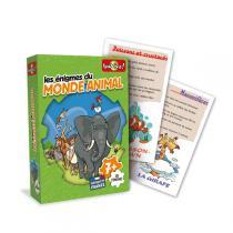 Bioviva - Jeux d'énigmes Monde animal - Dès 6 ans