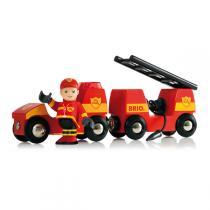 Brio - Vehicule de pompier son et lumiere