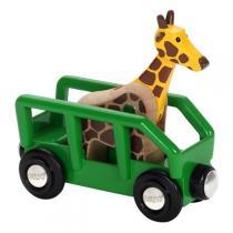 Brio - Wagon en Bois Girafe - Dès 3 ans