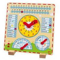 Goki - Horloge Calendrier en bois - Des 5 ans