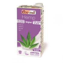 EcoMil - Boisson Végétale au Chanvre Bio avec sirop d'agave 1L