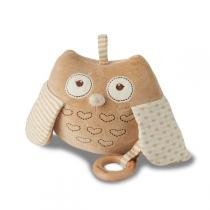 EverEarth - Musical Soft Plush Crinkly Cuddly Owl