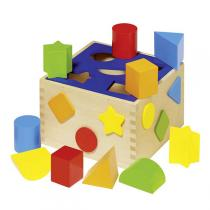 Goki - Steckwürfel Sort Box