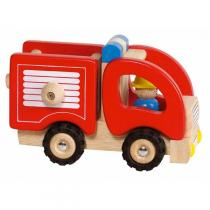 Goki - Holzauto Feuerwehr