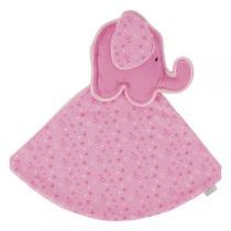 Goki - Schmusetuch, der Kleine Elefant (Rosa)