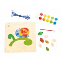Hape - Happy Snail Paint and Frame