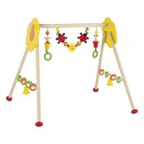 Heimess - Wooden Baby Gym Activity Centre - Flowers & Ladybird
