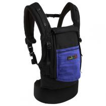Je porte mon bébé - JPMBB Physio Carrier Cotton Black & Iris
