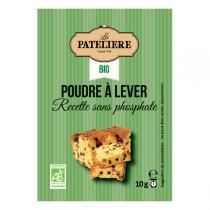 La Patelière - Poudre à lever Sans gluten 8x10g
