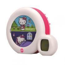 Claessens'Kids - Kid'Sleep Nachtlicht Wecker Moon Hello Kitty