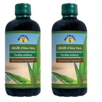 Lily of the desert - Lot de 2 Gelées a boire aloe vera 946 ml