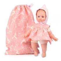 Petitcollin - Ecolo Doll Leo 632542  Petite Fée  - Doll 25 cm