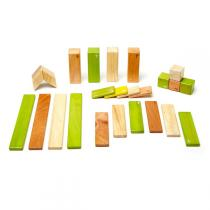 Tegu - Jungle Magnetic Wooden Blocks - 24 Piece Set