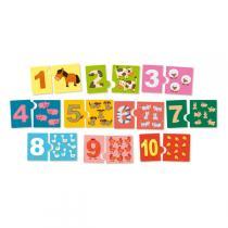 Vilac - jeu de numération J'apprends les chiffres - Dès 2 ans