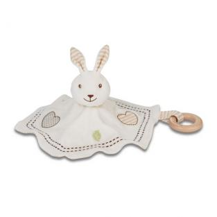 EverEarth - Baby Soft Plush Rabbit Cuddly Comforter