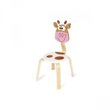 Scratch - Marie the Cow Wooden Chair