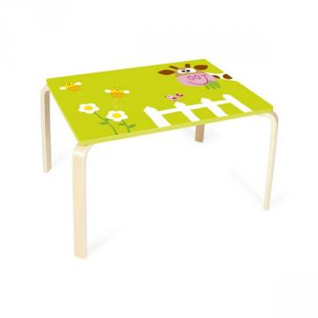 Scratch - Marie the Cow Wooden Table