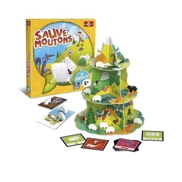 Bioviva - Jeux cooperatif Sauve moutons - Des 5 ans