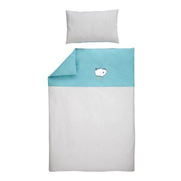 P'tit Basile - Parure de lit en coton bio - Dans les Nuages