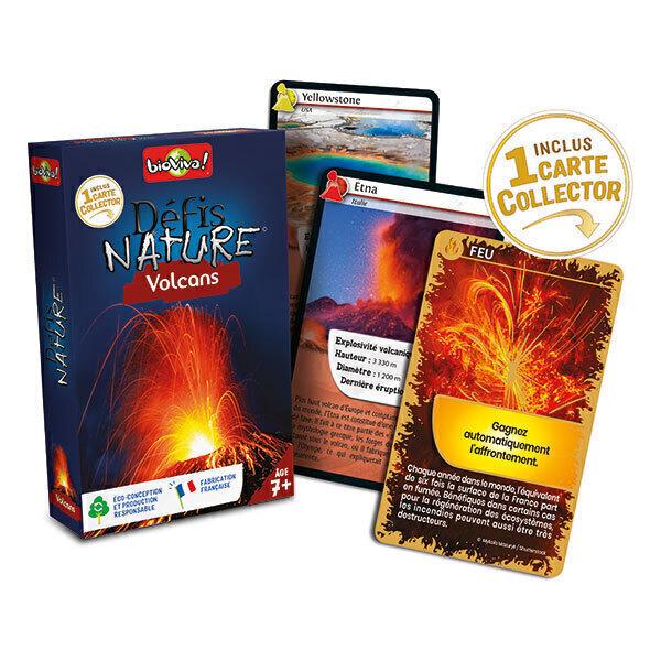 Bioviva - Défis Nature - Volcans - Dès 7 ans