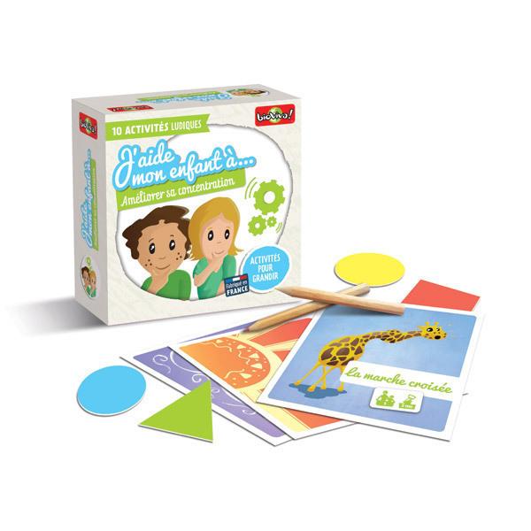 Bioviva - J'aide mon enfant à Améliorer sa concentration - Dès 3 ans