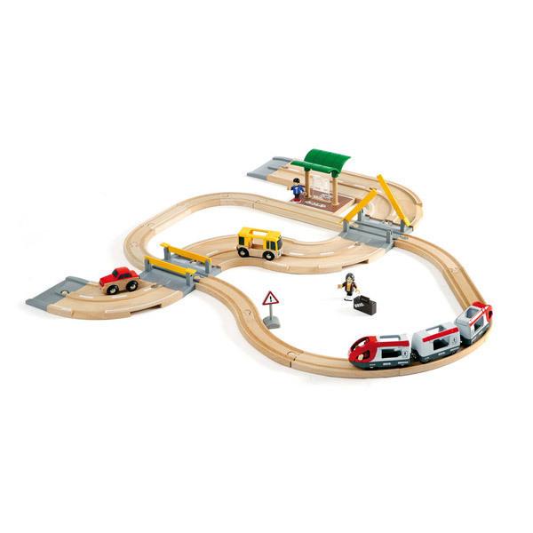 Brio - Circuit Train et Bus - Dès 3 ans