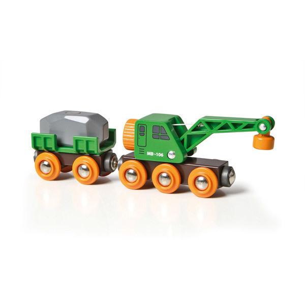 Brio - Wagon grue en bois - Dès 3 ans