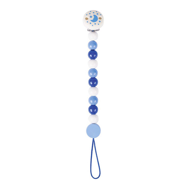 Heimess - Accroche tétine bleu