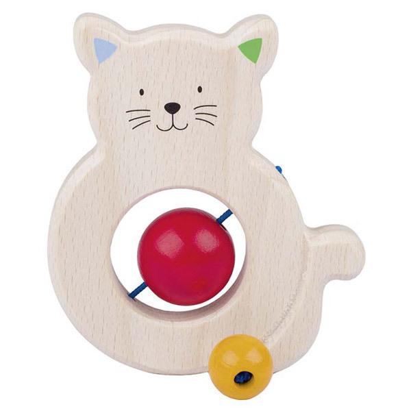 Heimess - Anneau à attraper chat avec perles