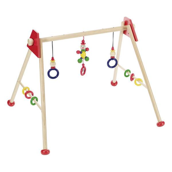 Heimess - Wooden Baby Gym Activity Centre - Little Man, Red