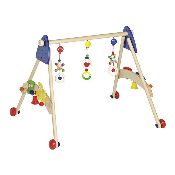 Heimess - Wooden Baby Gym Activity Centre - Train