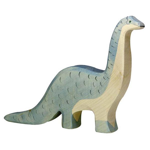 Holztiger - Figurine brontosaure en bois