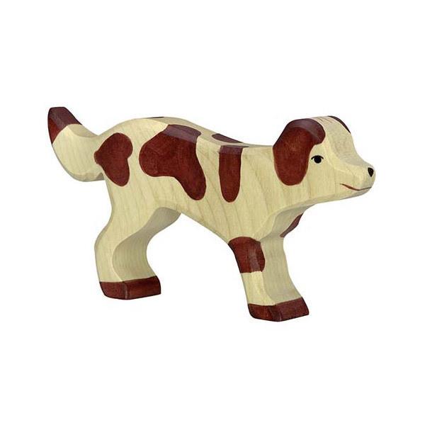 Holztiger - Figurine chien en bois