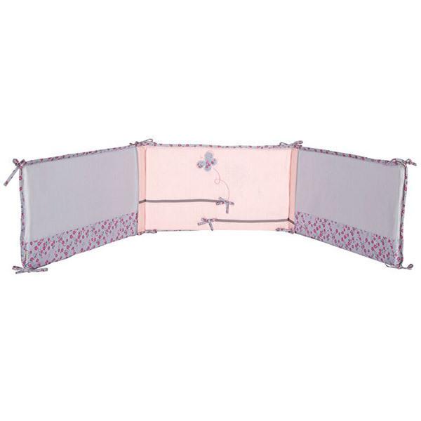 tour de lit mon papillon de nuit p 39 tit basile acheter sur. Black Bedroom Furniture Sets. Home Design Ideas