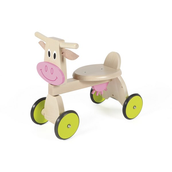 Scratch - 4-Wheel Wooden Cow Trike
