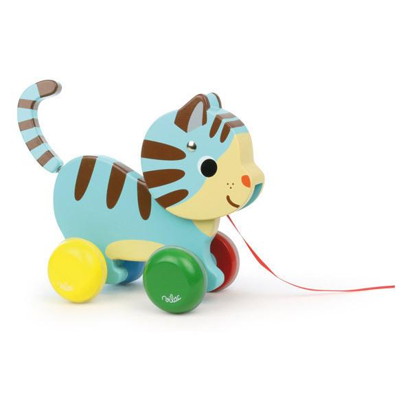 Vilac - Marcel le chat à tirer - Dès 12 mois